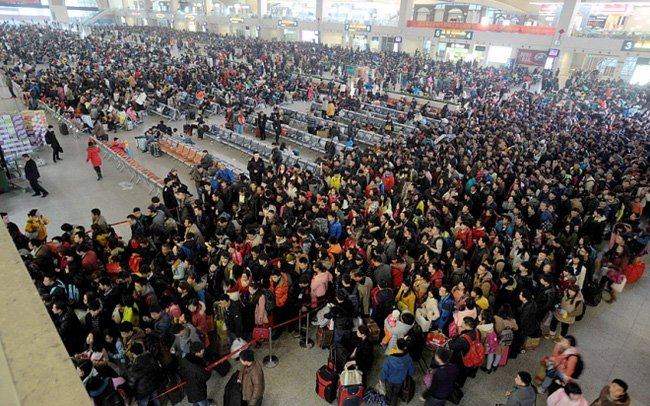 Sắp Tết rồi, Trung Quốc chính thức bắt đầu 'cuộc di cư lớn nhất hành tinh' 4