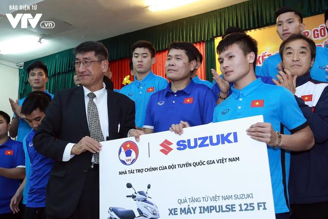 Bộ trưởng Mai Tiến Dũng: Nhắc nhở các doanh nghiệp hoàn thành tiền thưởng cho U23 Việt Nam 2
