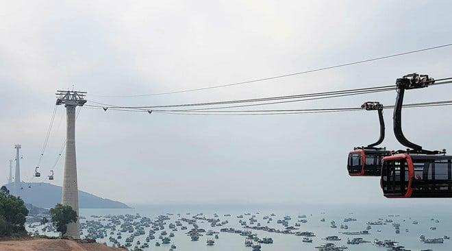 Cáp treo dài nhất thế giới 10.000 tỷ đồng tại Phú Quốc chính thức đi vào hoạt động 1