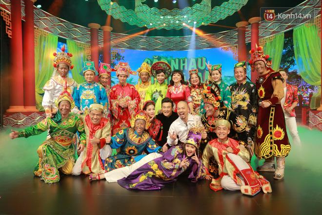 Chùm ảnh đẹp: Cận cảnh dàn nghệ sĩ trên sân khấu hoành tráng của Táo Quân 2018 20