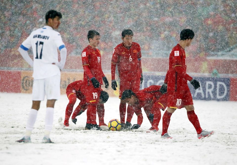 Hình ảnh Bài hát về U23 Việt Nam bằng tiếng Nhật thành hiện tượng gây chấn động thế giới số 1