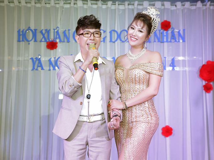Phi Thanh Vân và bạn trai đại gia chính thức