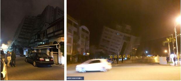 Đài Loan: Động đất mạnh 6 độ richter gây đổ sập nhiều toà nhà, hư hỏng đường sá 1