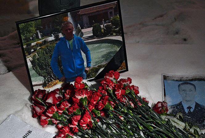 Nóng: Nga đưa thi thể phi công Su-25 hồi hương 1