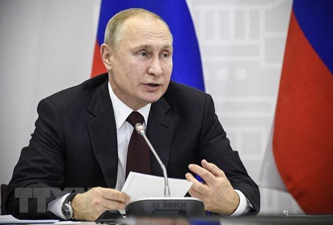 Ông Putin chính thức đăng ký tranh cử Tổng thống Nga 1