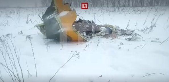 Máy bay chở khách rơi ở Nga, toàn bộ 71 hành khách thiệt mạng 2
