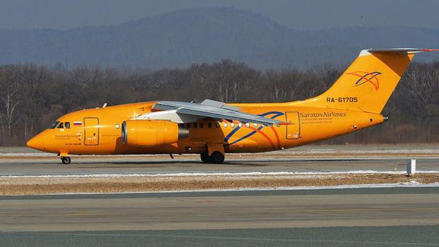 Hình ảnh Máy bay chở khách rơi ở Nga, toàn bộ 71 hành khách thiệt mạng số 1