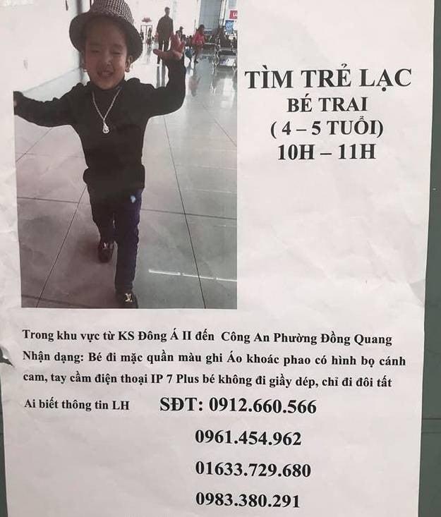 Thái Nguyên: Bé trai 5 tuổi bỗng dưng cầm theo iPhone 7 rời khỏi nhà mất tích 1