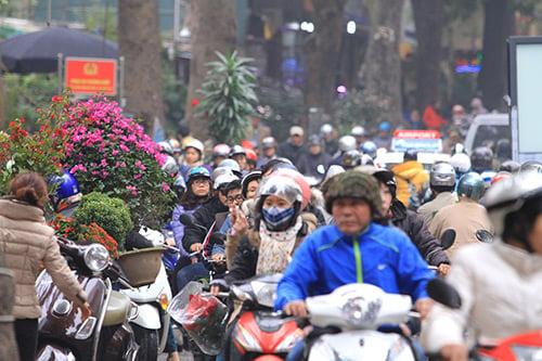 Hình ảnh Sung sướng phát điên vì không còn áp lực trong những ngày tắc đường cận Tết số 2