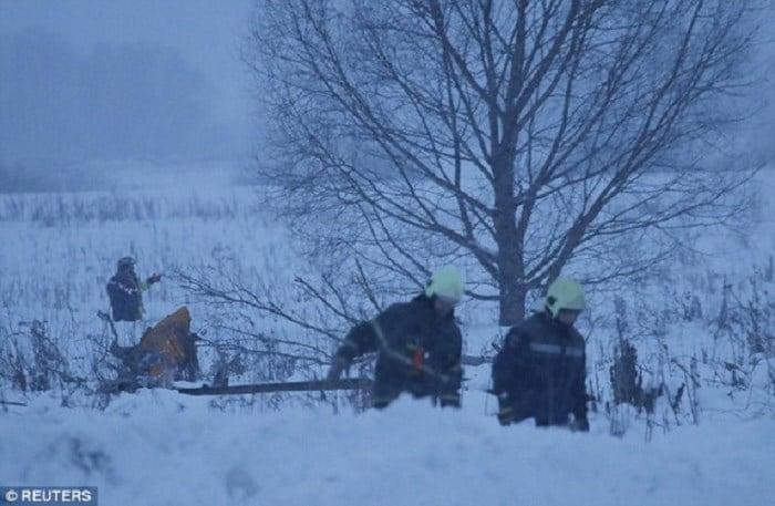 Vụ máy bay Nga rơi 71 người thiệt mạng: Rơi 112 m/giây 4