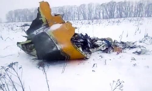 Máy bay Nga nổ tung trên không, thi thể 71 nạn nhân vương khắp nơi 1