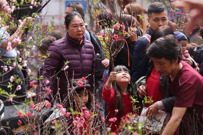Phố cổ Hà Nội tấp nập người mua sắm ngày 29 Tết - Ảnh 4.