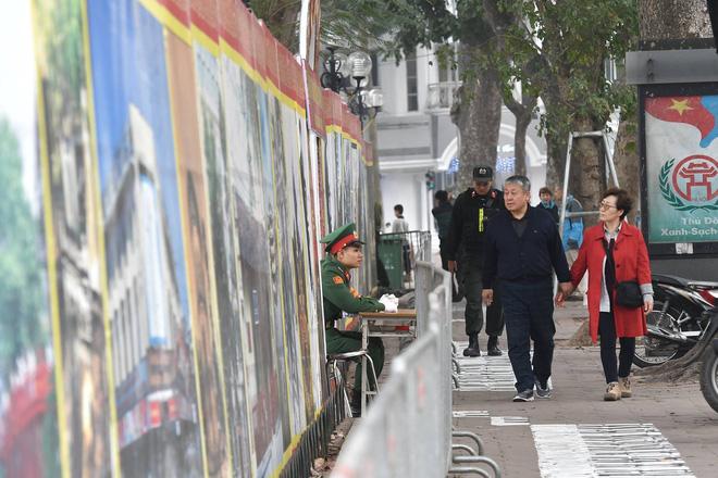 Trận địa pháo hoa trước khoảnh khắc Giao thừa tại Hà Nội 12