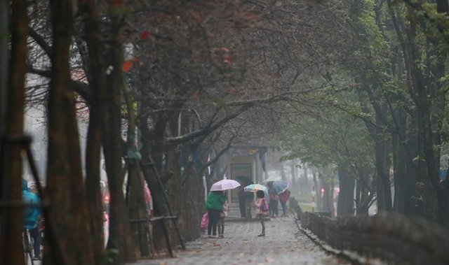 Dự báo thời tiết mùng 5 Tết: Hà Nội mưa phùn trời rét, không khí lạnh tăng cường 1