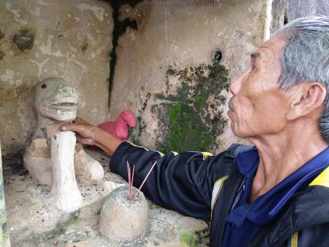 Chuyện thờ 'thần cẩu' giữ làng ở xứ Huế 1