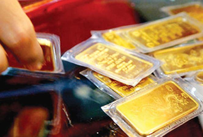 Đón vía Thần tài: Giá vàng tăng vọt, đắt thêm triệu đồng/lượng 1
