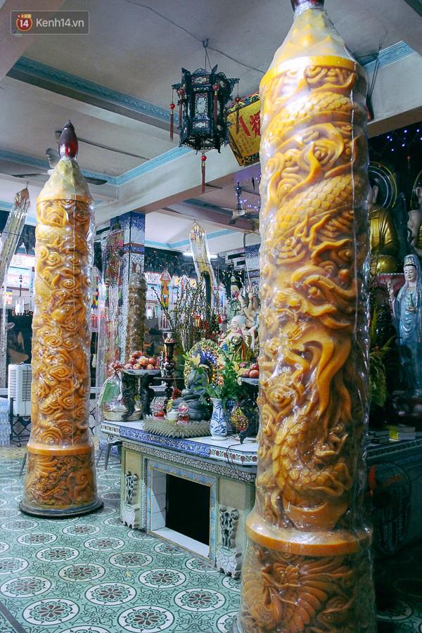 Gặp người chế tác cặp nến 'khủng' nặng cả tấn lập kỷ lục Guinness Việt Nam, được bán với giá 300 triệu đồng 10