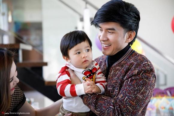 Vợ chồng Đan Trường tổ chức sinh nhật cho con trai trong biệt thự triệu đô 2