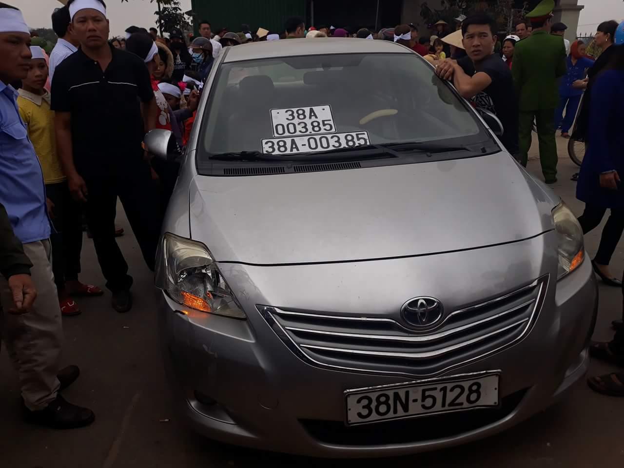 Tình tiết mới vụ công an đi xe biển giả gây tai nạn chết người xôn xao Hà Tĩnh 1