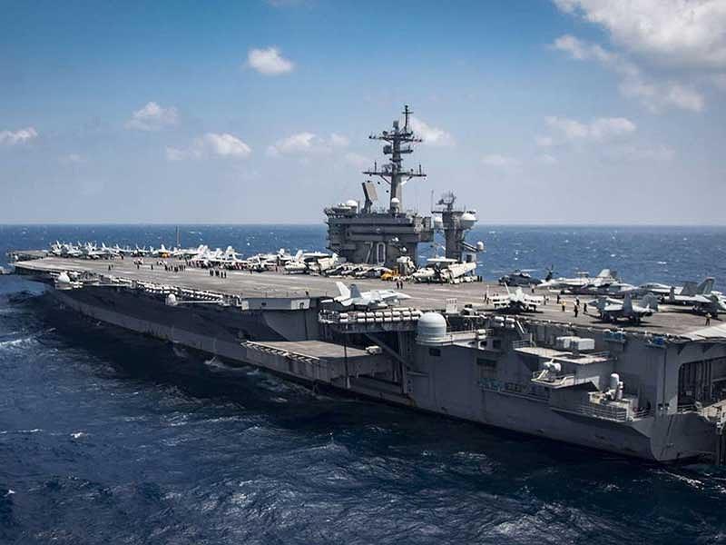 Uy lực siêu tàu sân bay hạt nhân Mỹ sắp cập cảng Đà Nẵng 1