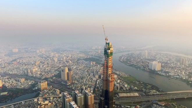 Toàn cảnh tòa tháp 81 tầng cao nhất Việt Nam của Vingroup 2