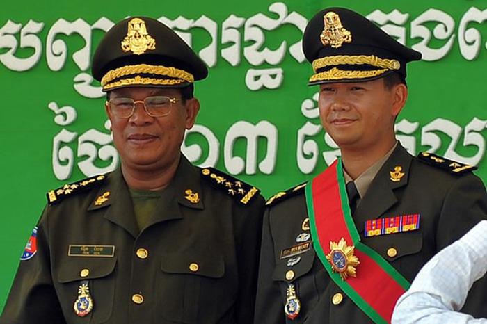 Hai con trai Thủ tướng Campuchia Hun Sen thăng tiến