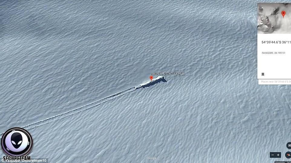 Sự thật về phi thuyền của người ngoài hành tinh trên đảo gần Nam Cực 2
