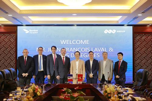 Hình ảnh FLC và Airbus đạt được thoả thuận 3 tỷ USD mua 24 máy bay cho Bamboo Airways số 3