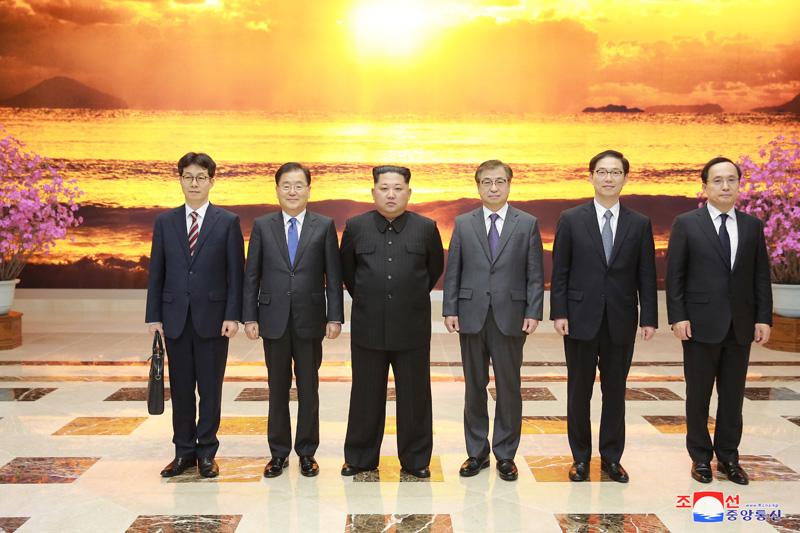 Sau chuyến thăm Triều Tiên, phái đoàn Hàn Quốc sang Mỹ chuyển tin tối mật 1