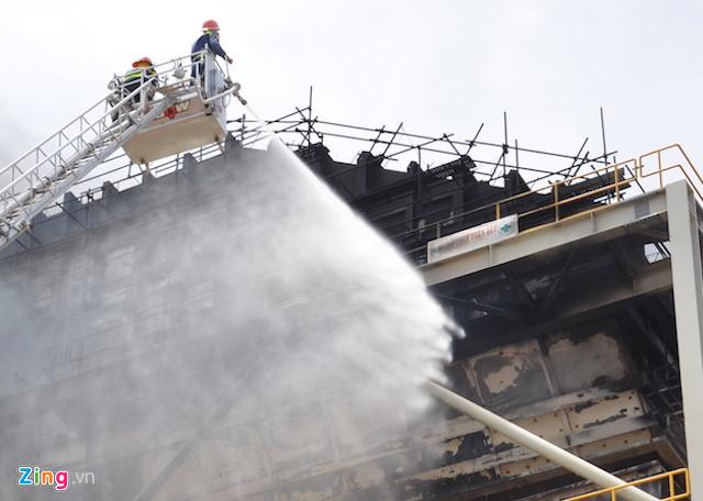 Thông tin mới nhất vụ cháy nhà máy Nhiệt điện Duyên Hải 3 2