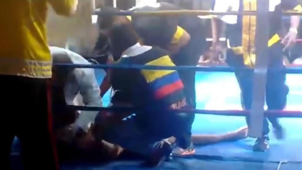 Võ sĩ bị xuất huyết não sau khi cố trụ 7 hiệp đấu trên võ đài - Ảnh 3.