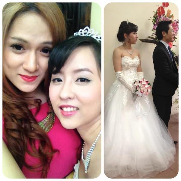 Chân dung chị gái ruột sở hữu nhan sắc xinh đẹp của Hoa hậu Chuyển giới Quốc tế Hương Giang 3