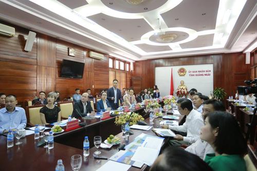"""Hình ảnh Tập đoàn FLC sẽ triển khai """"siêu"""" dự án 3.890 ha tại Quảng Ngãi số 1"""