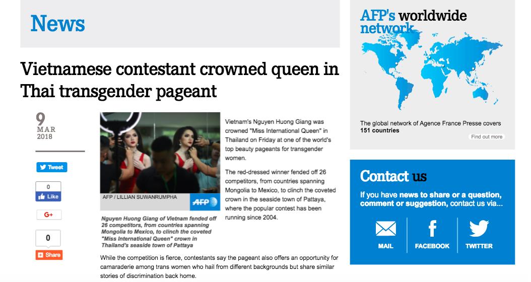 Giải thưởng 'khủng' mà Hương Giang nhận được khi trở thành Tân Hoa hậu Chuyển giới Quốc tế 2018 3