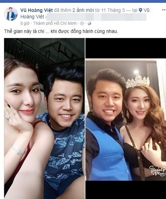 Chia tay tình già tỷ phú, Vũ Hoàng Việt công khai bạn gái nóng bỏng 2