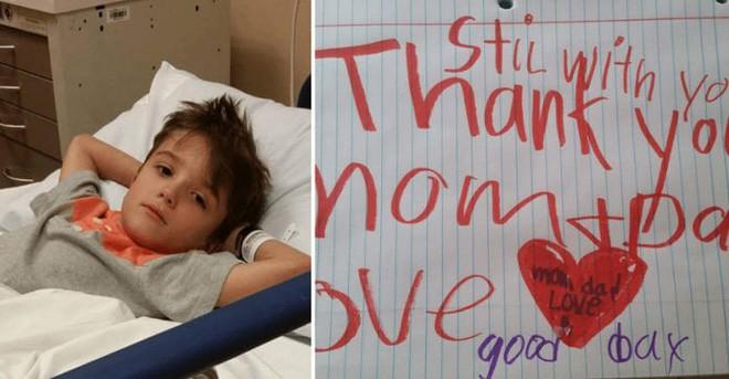 Con trai 6 tuổi qua đời, bố mẹ trở về nhà để lo hậu sự thì phát hiện mảnh giấy khiến họ đau nhói lòng 2