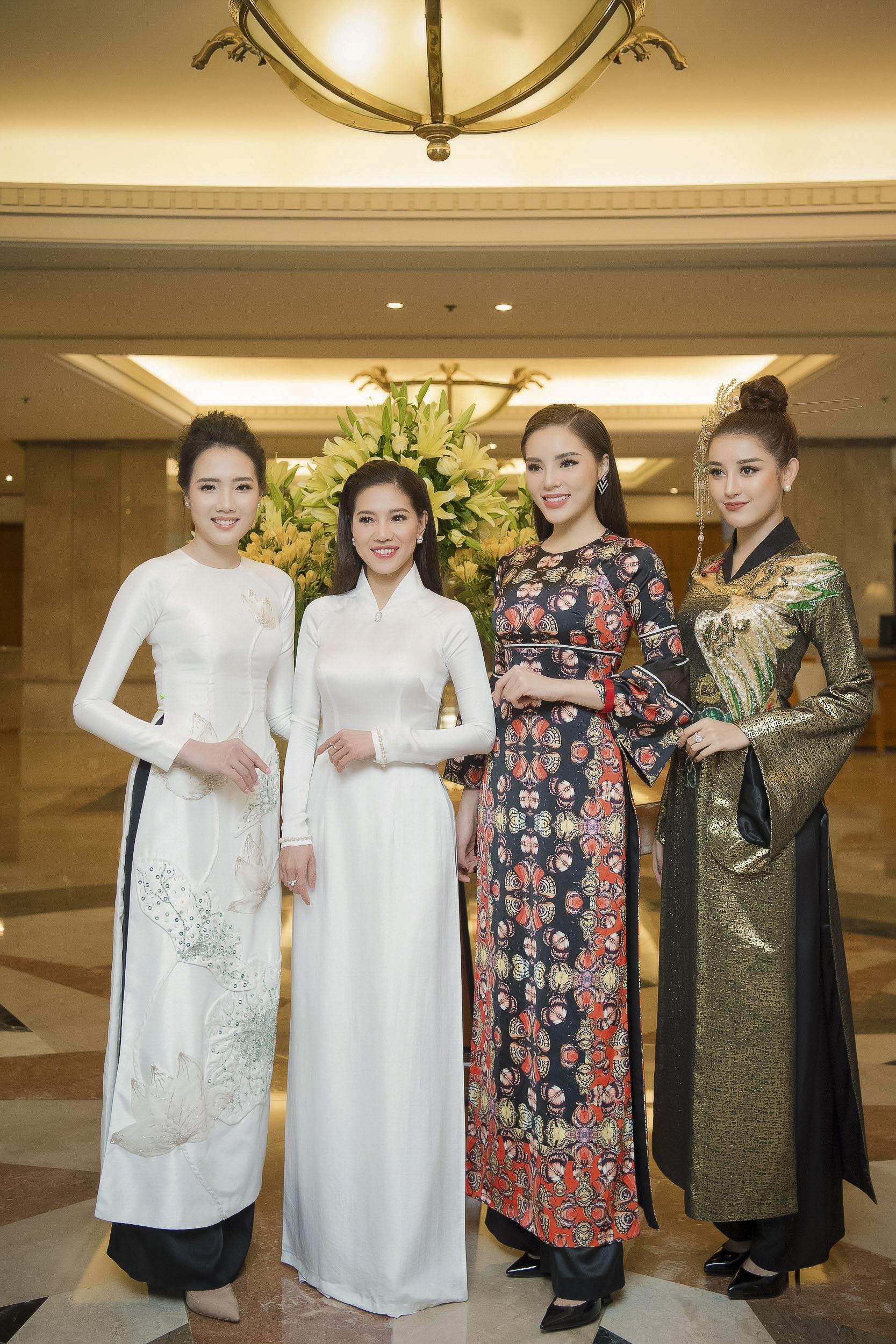 Sau lệnh 'cấm cửa', Hoa hậu Kỳ Duyên bất ngờ đồng hành cùng HHVN 2018 2
