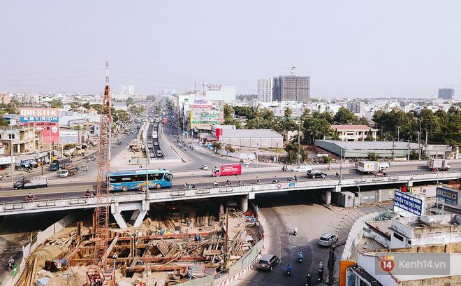 Hình ảnh Cận cảnh nút giao thông 3 tầng thứ hai ở Sài Gòn sau khi thông xe hầm chui hơn 500 tỉ đồng số 3