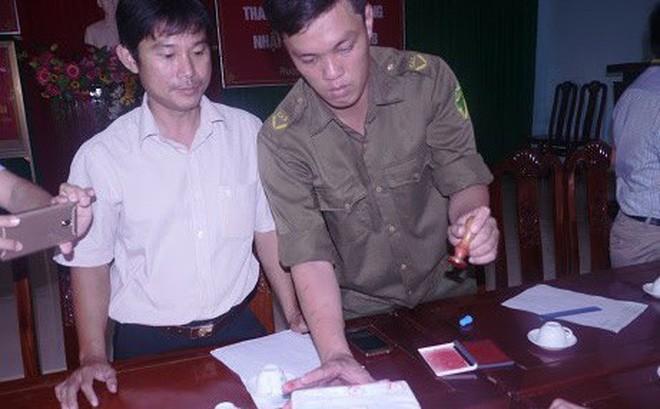 Người nhặt được hơn 3 lượng vàng trong bao lúa bàn giao cho công an cất giữ 1