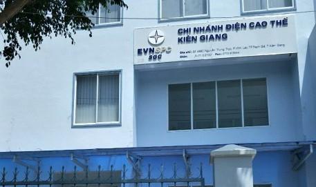 Tạm đình chỉ công tác GĐ Chi nhánh Điện cao thế Kiên Giang 1