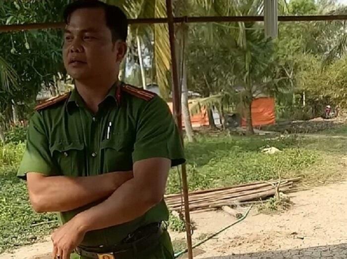 Thiếu tá công an bị tố dẫn 'giang hồ' đi đánh dân  1