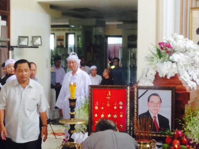 Hình ảnh lễ tang bình dị của nguyên Thủ tướng Phan Văn Khải ở quê nhà 2