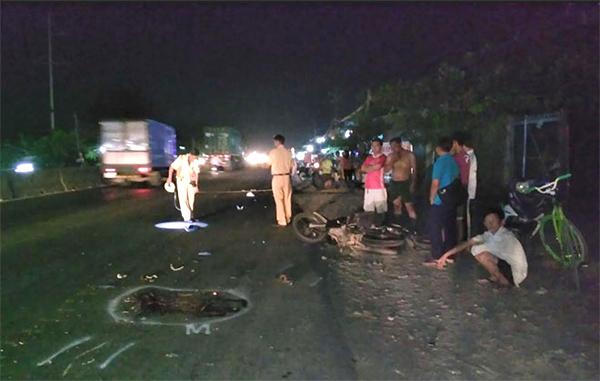 Truy tìm xe ô tô gây tai nạn chết người rồi trốn ở Tiền Giang 1