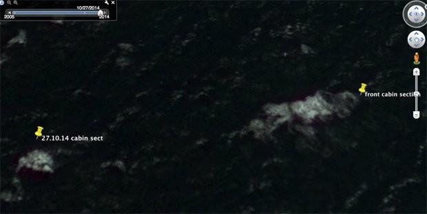 Một kỹ sư tuyên bố tìm thấy xác máy bay MH370 đầy lỗ đạn 2