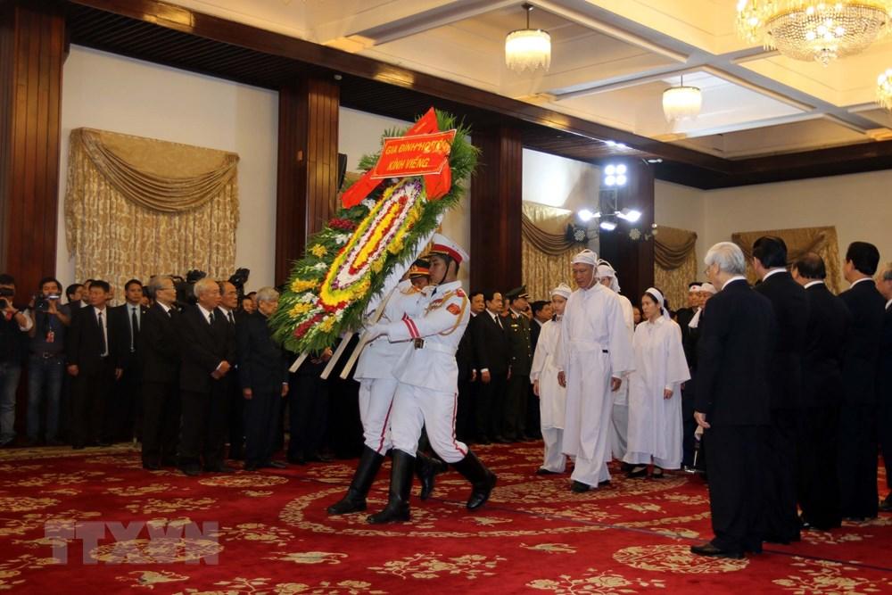 Toàn cảnh lễ Quốc tang nguyên Thủ tướng Chính phủ Phan Văn Khải 10