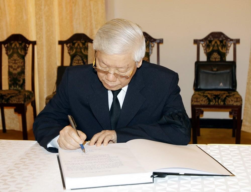 Những lời tiếc thương đồng chí Sáu Khải của lãnh đạo Đảng, Nhà nước trong sổ tang 2