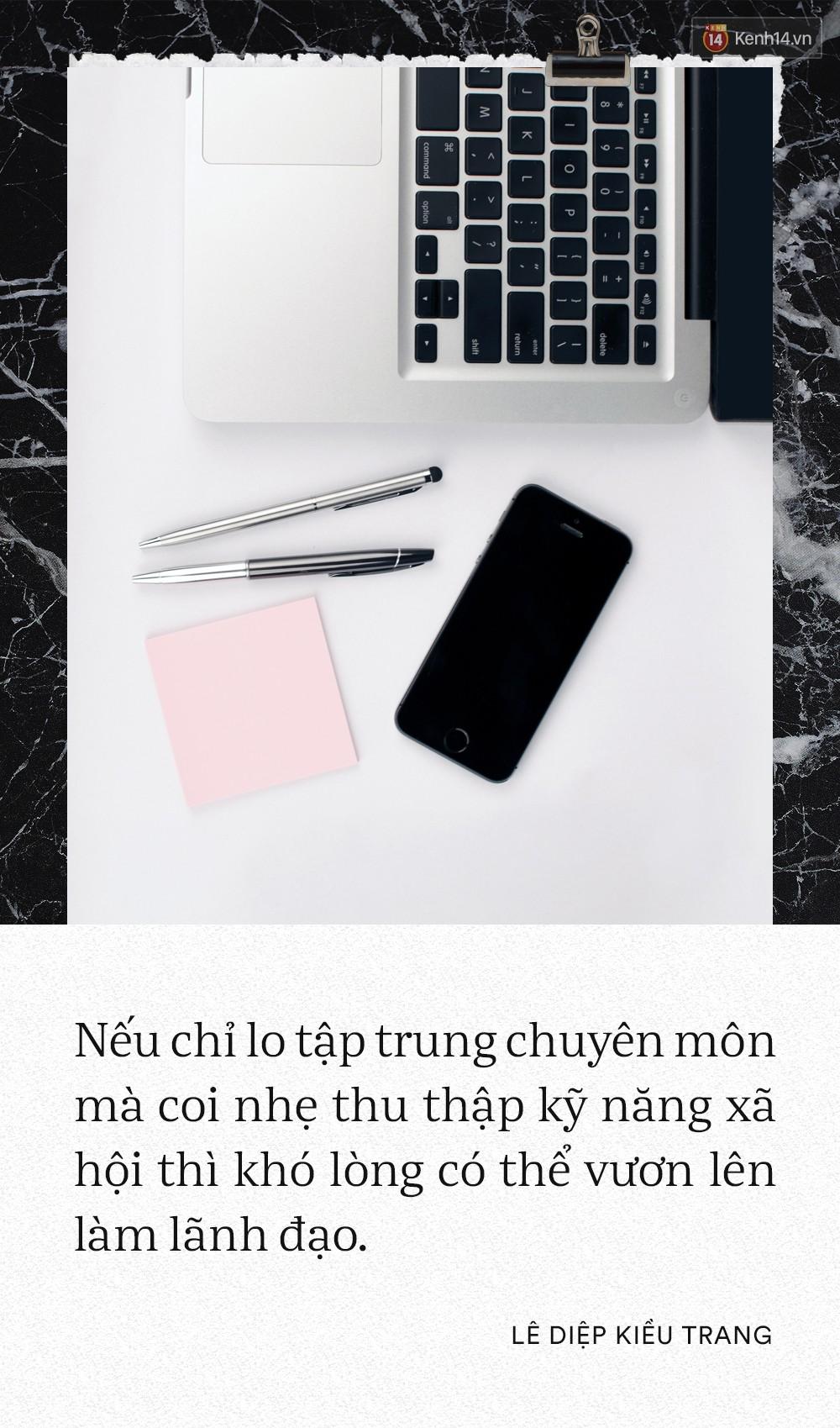 Giám đốc Facebook Việt Nam Lê Diệp Kiều Trang: Học giỏi không có nghĩa là làm việc giỏi 8