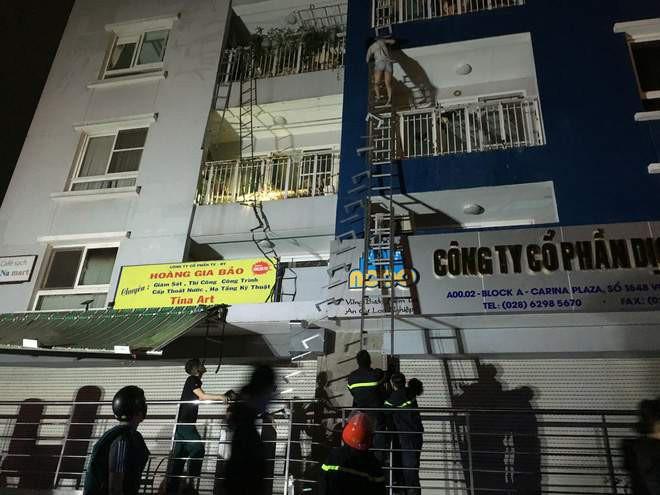 Cháy chung cư cao cấp ở Sài Gòn: Bệnh viện huy động toàn lực cứu nạn nhân 3