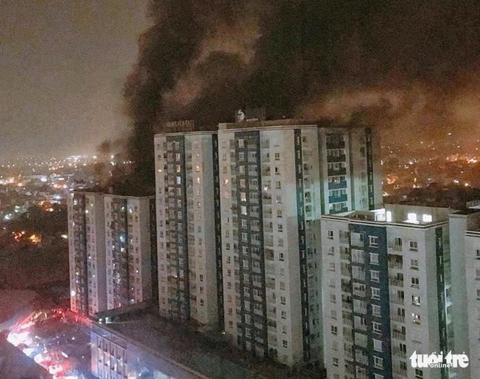 Vụ cháy 13 người tử vong: Không loại trừ khả năng có người đặt chất gây nổ 1