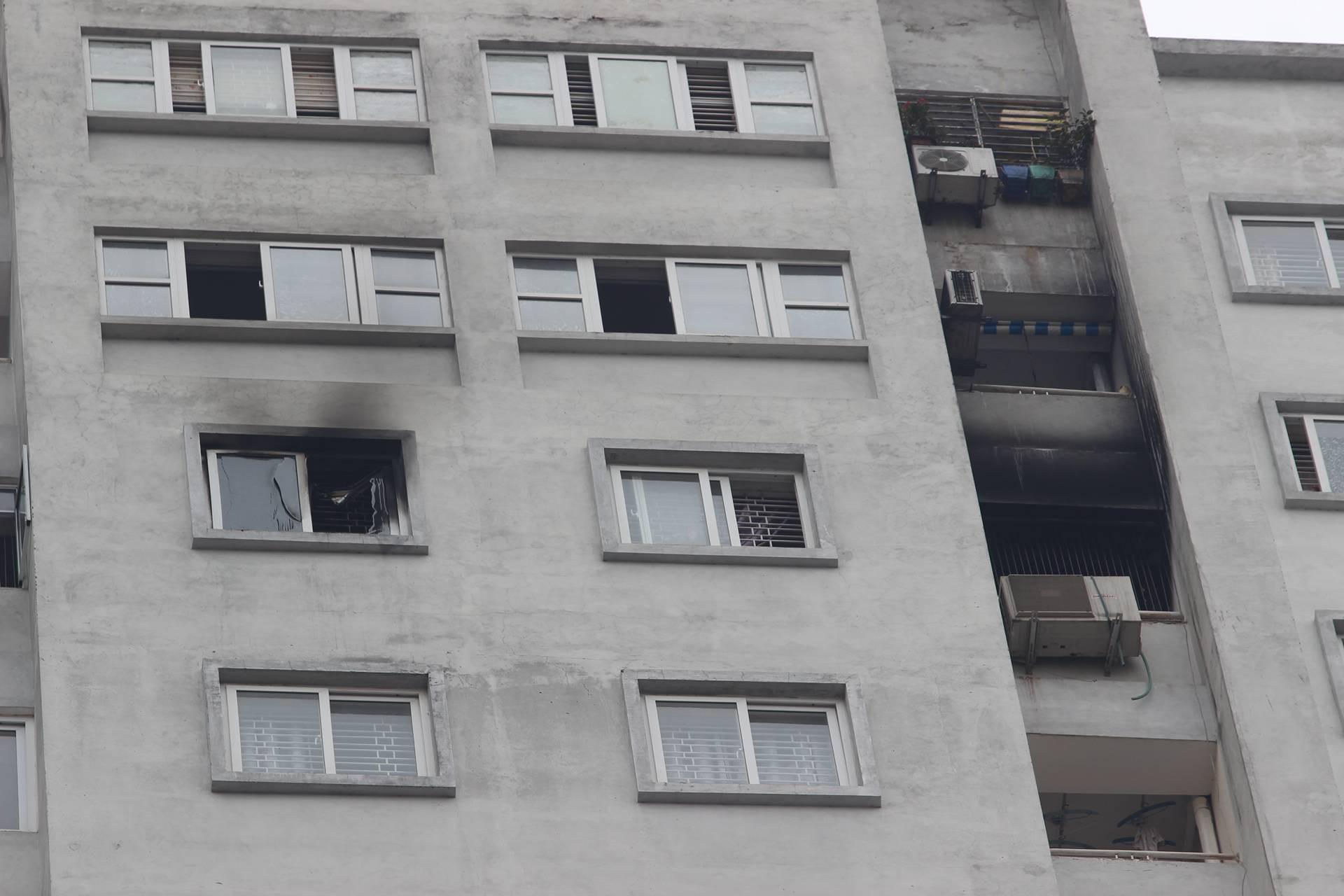 Hà Nội: Cháy ở chung cư CT5 Văn Khê, người dân bất bình vì thiết bị báo cháy không hoạt động 2